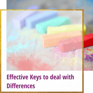 effective keys to deal with differences
