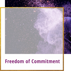 freedom of commitment