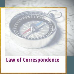 law of correspondence