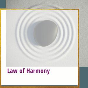 law of harmony