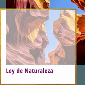 ley de naturaleza